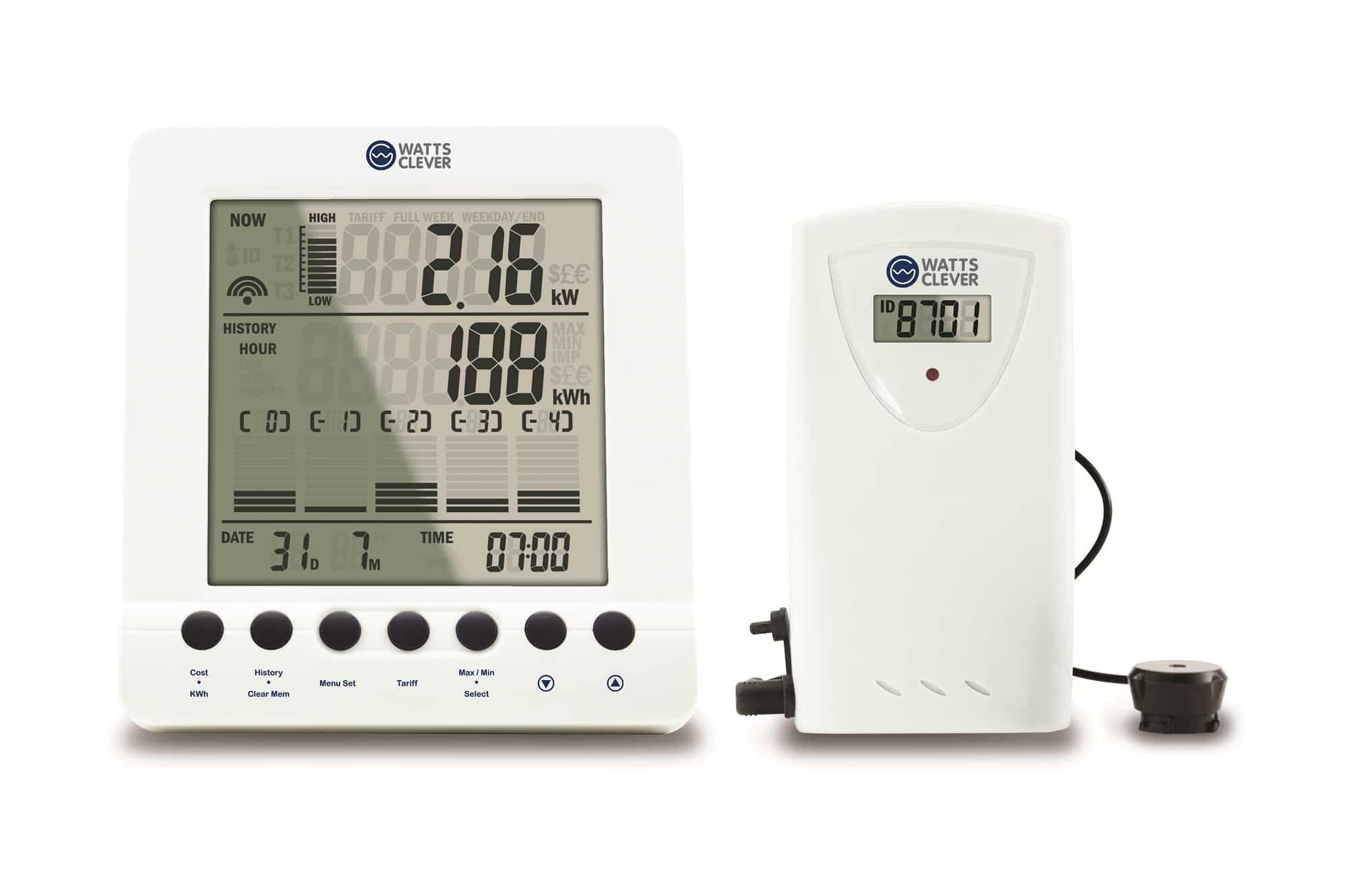 Watts Cleaver Energy monitoring meter